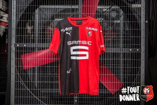 Stade Rennais 2019 2020 PUMA Home and Away Football Kit, Soccer Jersey, Shirt, Maillot