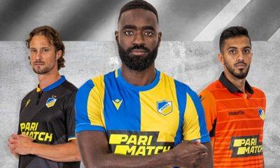 APOEL FC 2019 2020 Macron Football Kit, Soccer Jersey, Shirt