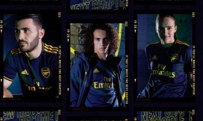 Arsenal FC 2019 2020 adidas Blue Third Football Kit, Shirt, Soccer Jersey, Maillot, Camiseta, Camisa, Trikot, Tenue