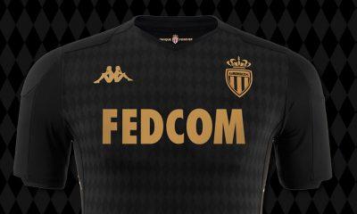 AS Monaco 2019 2020 Kappa Away Football Kit, Soccer Jersey, Shirt, Maillot