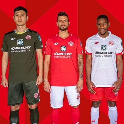Mainz 05 2019 2020 Lotto Football Kit, Soccer Jersey, Shirt, Trikot