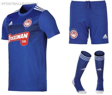 Olympiacos FC 2019 2020 adidas Football Kit, Soccer Jersey, Shirt