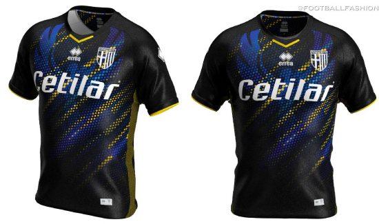 Parma Calcio 2019 2020 Erreà Third Football Kit, Soccer Jersey, Shirt, Gara, Maglia