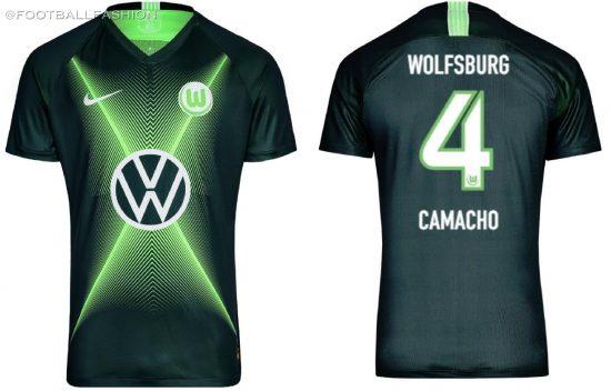 VfL Wolfsburg 2019 2020 Nike Football Kit, Soccer Jersey, Shirt, Trikot