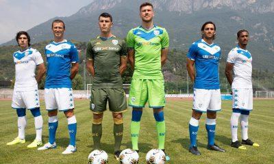 Brescia Calcio 2019 2020 Kappa Football Kit, Shirt, Soccer Jersey, Gara, Maglia