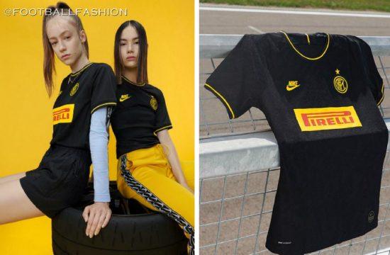 Inter Milan 2019 2020 Nike Black Third Football Kit, Soccer Jersey, Shirt, Camiseta, Camisa, Maglia, Gara, Trikot, Maillot, Tenue