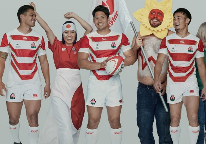 Japan 2019 Rugby World Cup Home and Away Canterbury Kit, Shirt, Jersey
