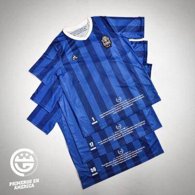 Gimnasia le coq sportif Maradona 59th Birthday DM59 Football Kit, Soccer Jersey, Shirt, Camiseta de Futbol