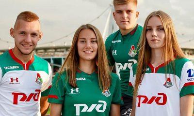 Lokomotiv Moscow 2019 2020 Under Armour Football Kit, Soccer Jersey, Shirt