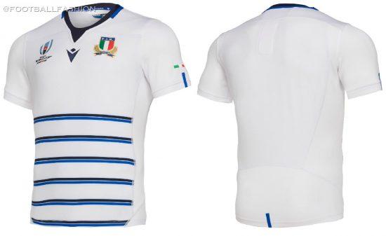 Italy 2019 Rugby World Cup Macron Kit, Jersey, Shirt, Maglia, Gara