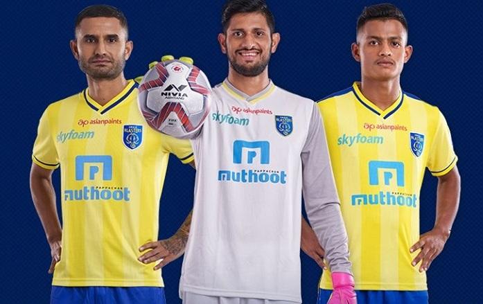 Kerala Blaster's Jersey and Kit