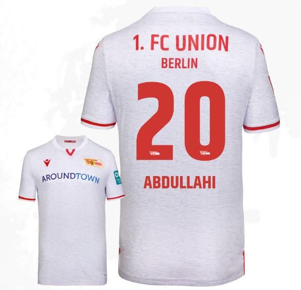 Macron Fu/ßball 1 FC Union Berlin Home Hose 2019 2020 Heimshorts Herren rot