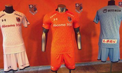 Omiya Ardija 2020 Under Armour Home and Away Football Kit, Soccer Jersey, Shirt