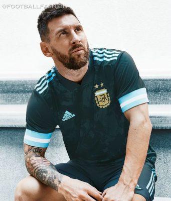 Argentina 2020 Copa America 2021 adidas Home Football Kit, Soccer Jersey, Shirt, Camiseta de Futbol