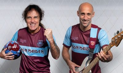 West Ham United x Iron Maiden Footbal Kit, Soccer Jersey, Shirt