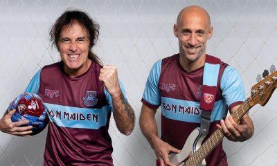 West Ham United x Iron Maiden Footbal Kit, Soccer Jersey, Shirt