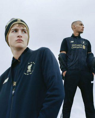 Liverpool FC 2019 2020 Black 6 Times New Balance Football Kit, Soccer Jersey, Shirt, Camiseta, Camisa, Maillot, Trikot