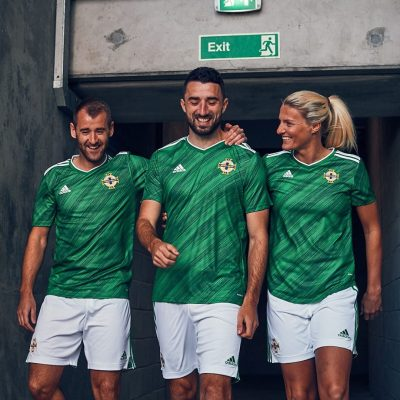Northern Ireland 2020 2021 adidas Home Football Kit Kit, Soccer Jersey, Shirt