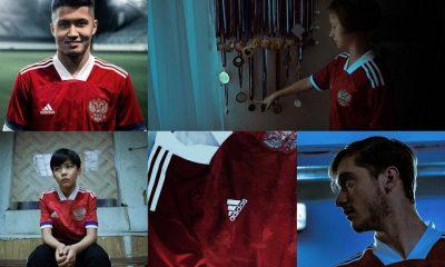 Russia EURO 2020 adidas Home Football Kit, Soccer Jersey, Shirt