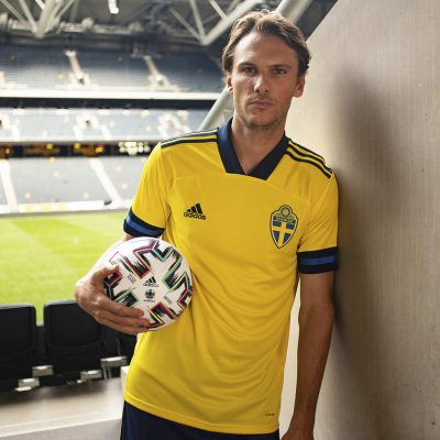 Sweden EURO 2020 2021 adidas Home Football Kit, Soccer Jersey, Shirt, Matchtröja