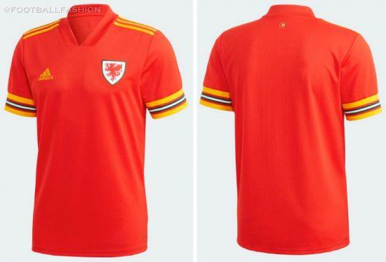Wales EURO 2020 Home Football Kit, Soccer Jersey, Cymru Shirt