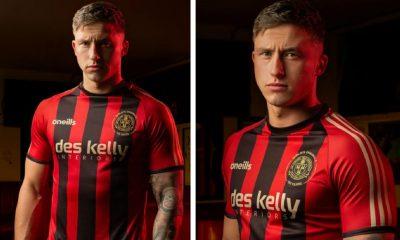 Bohemian FC 2020 O'Neills Home Football Kit, Soccer Jersey, Shirt