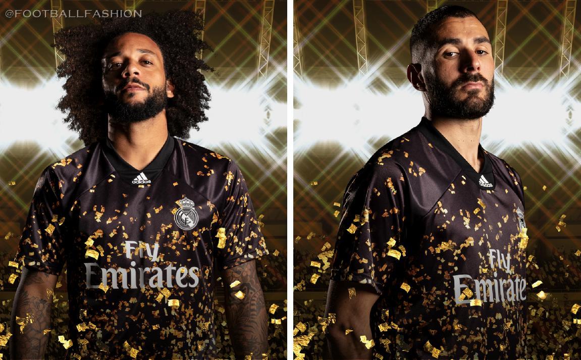 Real Madrid X Fifa 20 Adidas 4th Kit Football Fashion