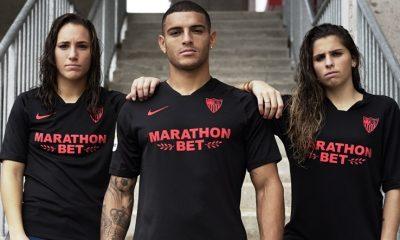 Sevilla FC 2019 2020 Black Limited Edition Football Kit, Soccer Jersey, Shirt, Camiseta de Futbol