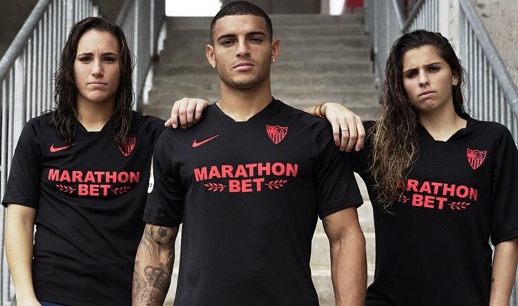 Sevilla Fc 2019 20 Black Limited Edition Nike Kit Football Fashion