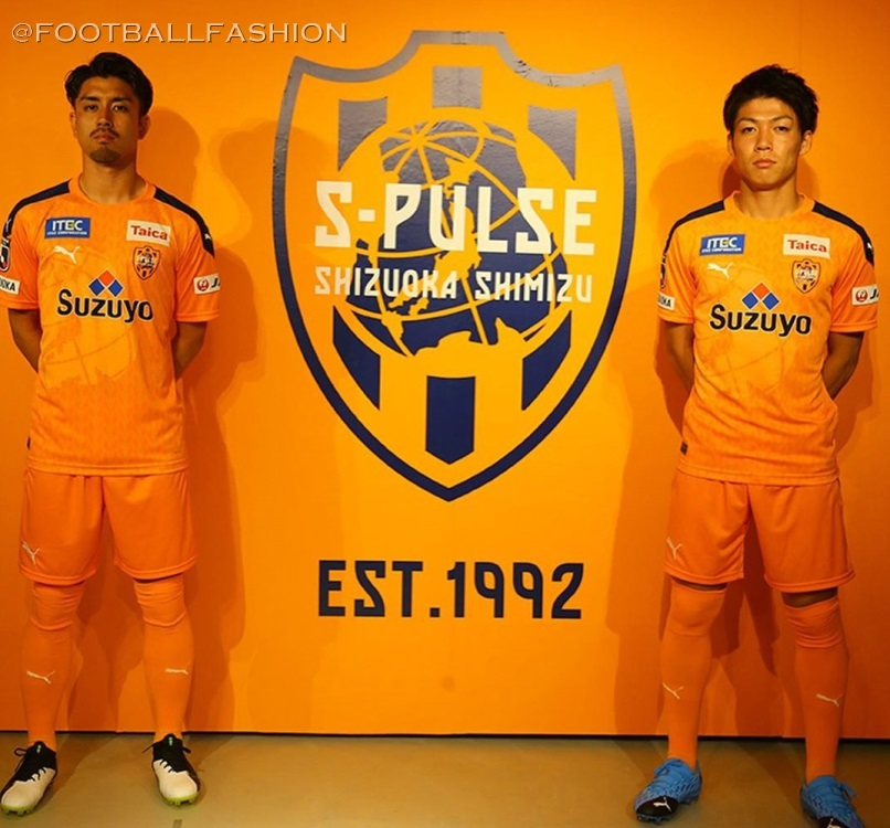 Shimizu S-Pulse 2020 PUMA Home Football Kit, Soccer Jersey, Shirt