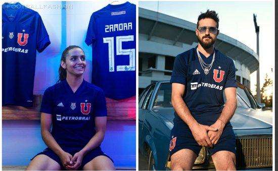Club Universidad de Chile 2020 adidas Home Football Kit, Soccer Jersey, Shirt, Camiseta de Futbol