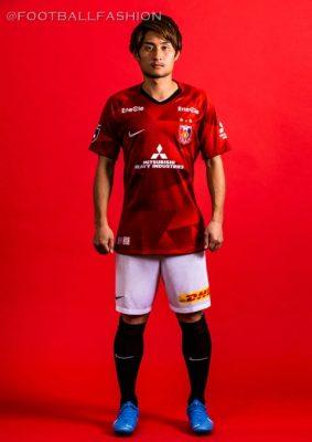 Urawa Red Diamonds 2020 Nike Home and Away Football Kit, Soccer Jersey, Shirt