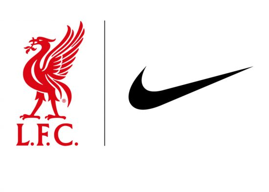 Liverpool FC Sign with Nike