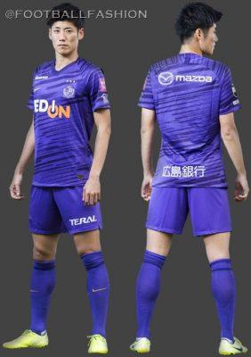 Sanfrecce Hiroshima 2020 Nike Football Kit, Soccer Jersey, Shirt