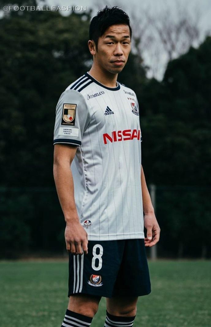 Yokohama F. Marinos 2020 adidas Away Kit - FOOTBALL FASHION