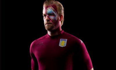 Aston Villa 2020 Kappa Kombat XX Football Kit, Soccer Jersey, Shirt