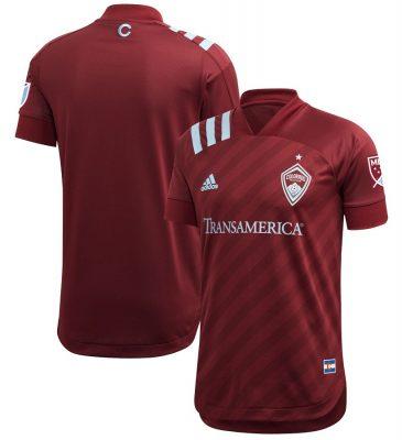Colorado Rapids 2020 adidas Home Football Kit, Soccer Jersey, Shirt, Camiseta de Futbol