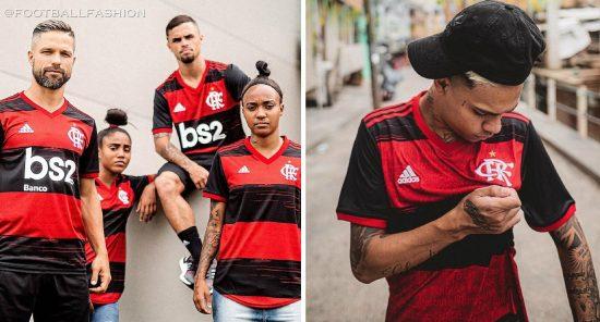 CR Flamengo 2020 2021 adidas Home Soccer Jersey, Football Kit, Shirt, Camisa