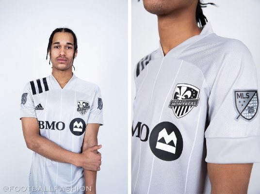 Montreal Impact 2020 adidas Away Soccer Jersey, Football Kit, Shirt, Maillot