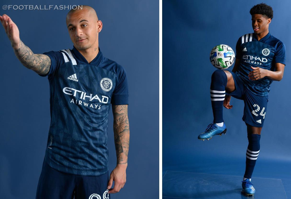 New York City Fc 2020 21 Adidas Gotham Away Kit Football Fashion