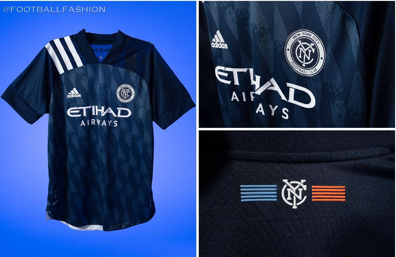 New York City FC 2020/21 adidas 'Gotham' Away Kit - FOOTBALL FASHION