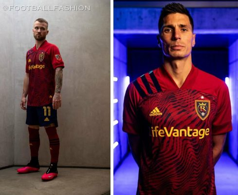 Real Salt Lake 2020 adidas Home Soccer Jersey, Football Kit, Shirt, Camiseta de Futbol