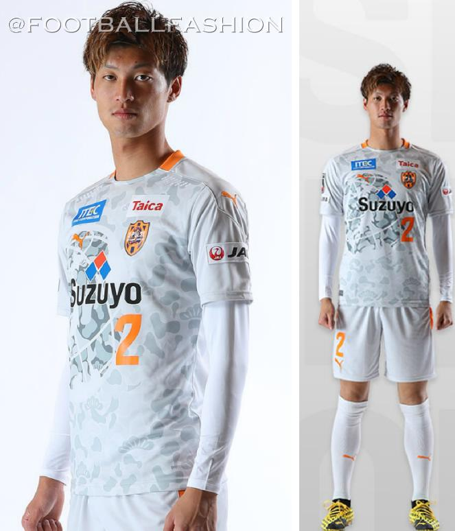 Shimizu S-Pulse has released their 2020 away kit. It is provided by the club's longtime technical partner PUMA Japan.