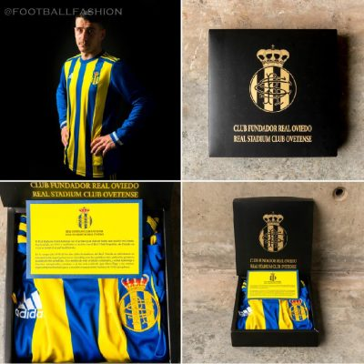 Real Oviedo 94th Anniversary adidas Football Kit, Soccer Jersey, Shirt, Camiseta 94º Aniversario