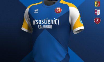 Erreà Sport #sostieniCi CALABRIA Four-Club Serie C Lego Pro Football Kit, Soccer Jersey, Shirt, Gara, Maglia