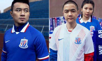Shanghai Shenhua 2020 Nike Home and Away Football Kit, Soccer Jersey, Shirt