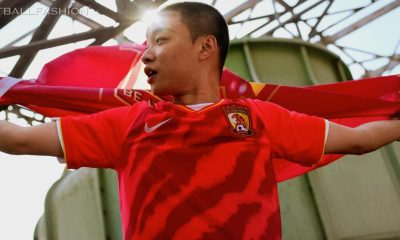 Guangzhou Evergrande 2020 Nike Home Football Kit, Soccer Jersey, Shirt