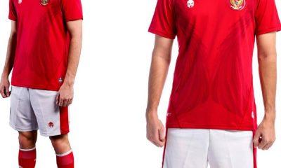 Indonesia 2020 2021 Mills Sport Home Football Kit, Soccer Jersey, Shirt