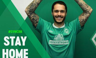 Werder Bremen #STAYATHOME Umbro Football Kit, Soccer Jersey, Shirt, Trikot