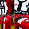 Dunfermline Athletic 2020 2021 Joma Football Kit, Soccer Jersey, Shirt